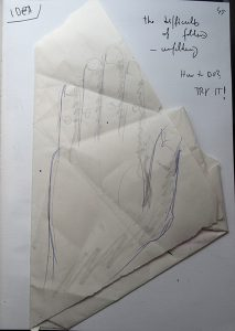Folding - a sketchy exploration - and failure