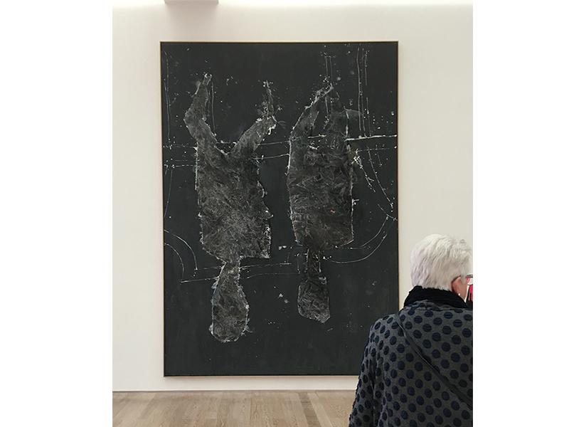 Georg Baselitz 'Wer Alles? Was Alles?', 2016 - oil on canvas. Photo taken during my visit