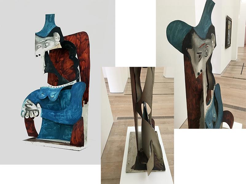 Pablo Picasso 'Femme au chapeau', 1961-3. Photos taken during my visit
