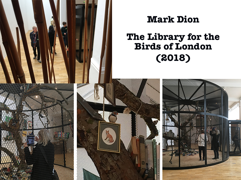 The Library for the Birds of London, 2018