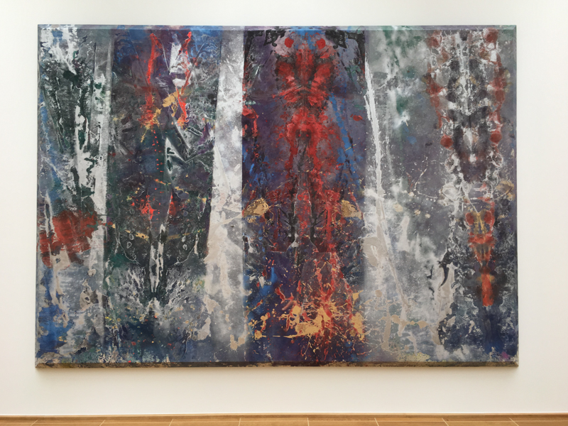 Sam Gilliam 'Beveled Edge Paintings' 1967-70 - installation view; photo: StefanJSchaffeld