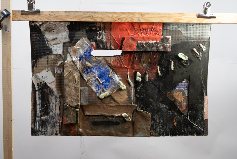 StefanJSchaffeld - Two Folds of Folly, 2018 - installation view