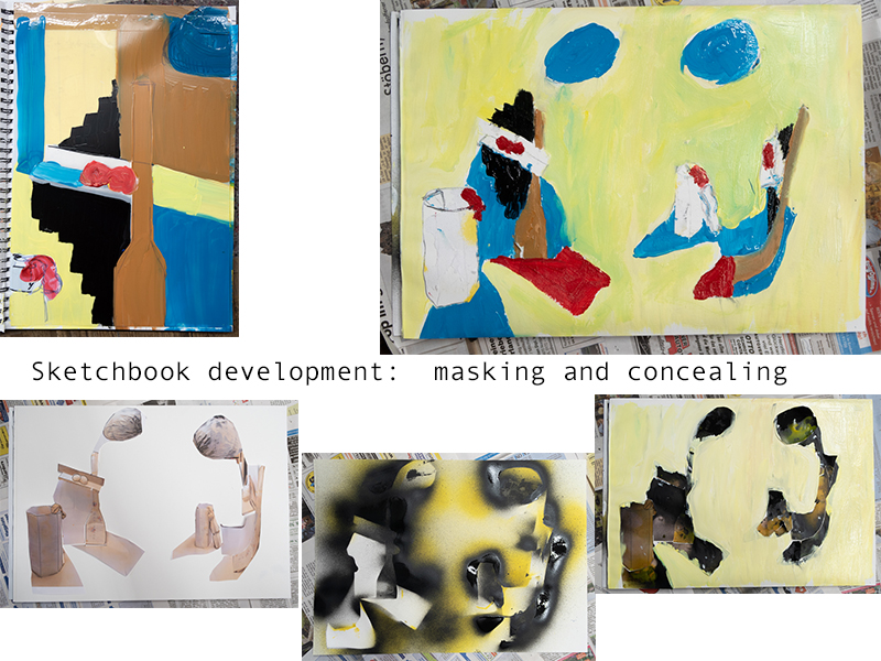 Stefan513593 - Ex 2.5 - Paint - sketchbook idea development