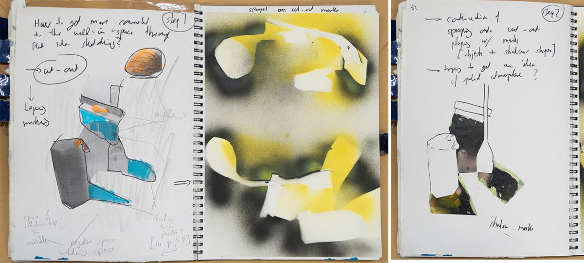 Stefan513593 - P2SP - Sketchbook - developing Walking Through Painting