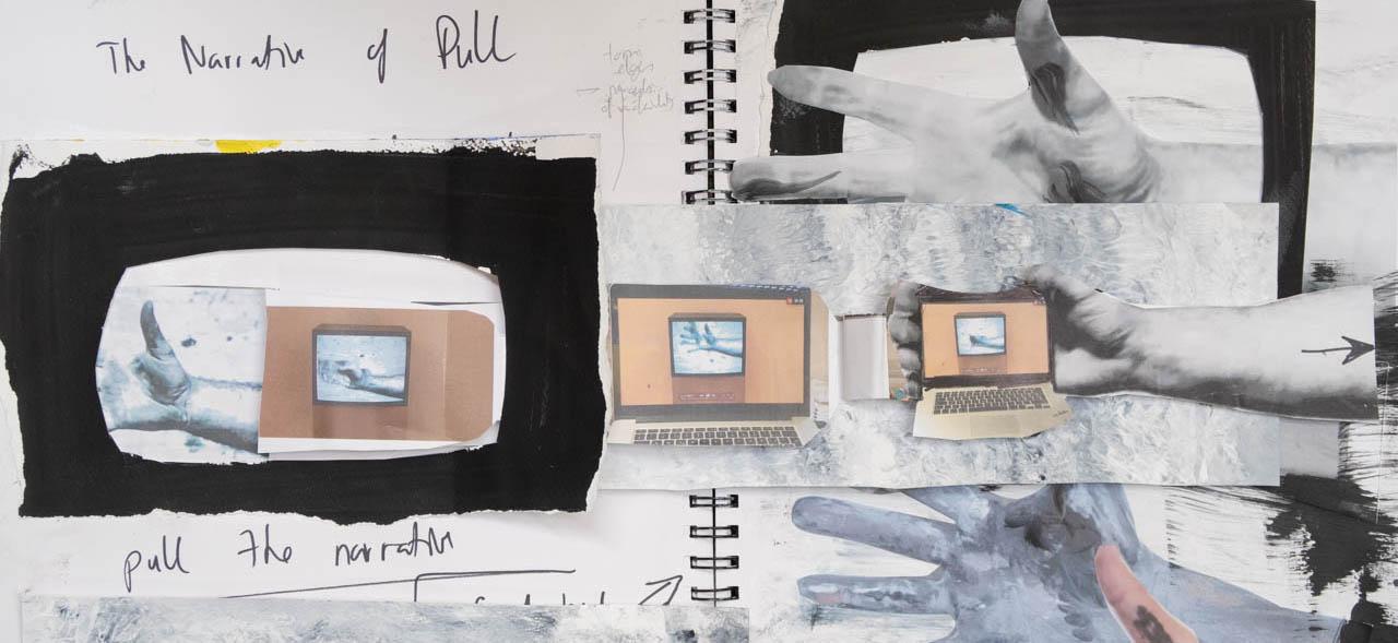 Stefan513593 - P3Ex3 'Pull the Narrative' - sketchbook explorations