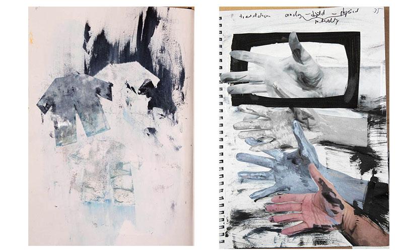Stefan513593 - sketchbook - dislocation and fragmentation