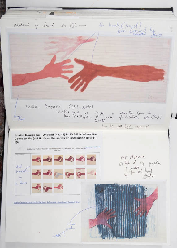 Stefan513593- sketchbook - Louise Bourgeois -gesture