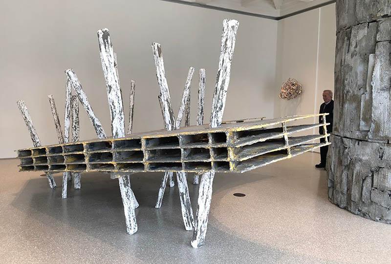 Phyllida Barlow untitled: shadowplatform (2018– 2019)