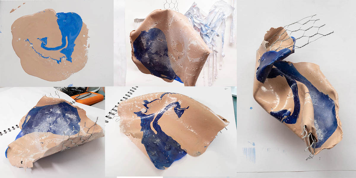 Fig. 11: latex goes sculptural