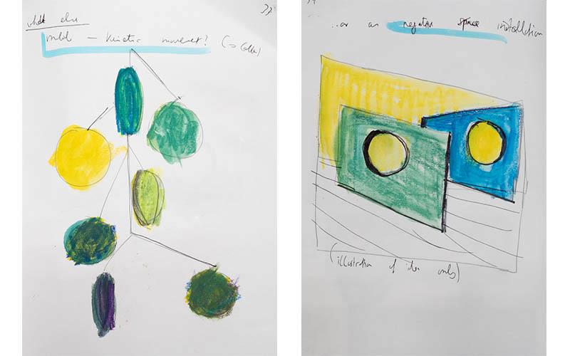 Fig. 11: color in space no5 - sketchbook ideas